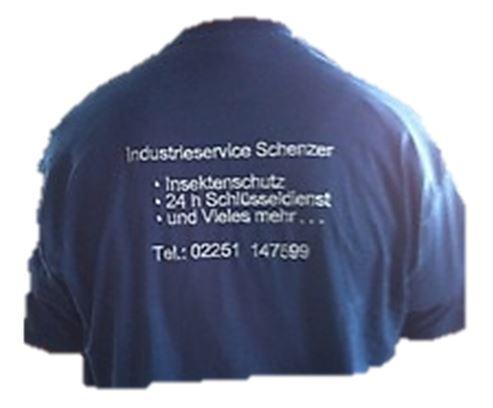 Stickerei  Wir besticken Ihnen gerne Ihre T-Shirt, Sweatjacken, Handtücher und vieles mehr.  Die hier gezeigte Jacke ist unverkäuflich und soll nur ein Beispiel darstellen.