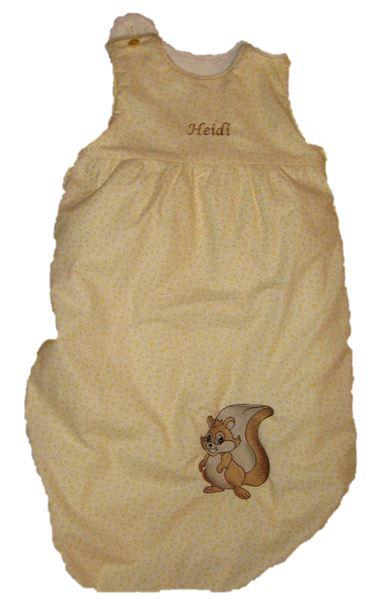 Schlafsack für unsere Kleinen  Alle hier gezeigten Schlafsäcke sind lediglich Beispiele und wurden für unsere Kunden individuell genäht.